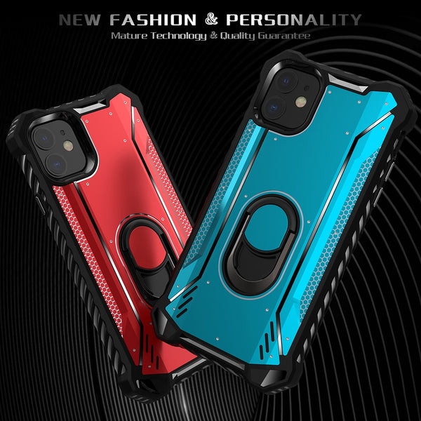 Shockproof Armor Magnetic holder Case For Iphone 11 Pro Max X XR(BUY 2PCS TO GET 10% OFF)