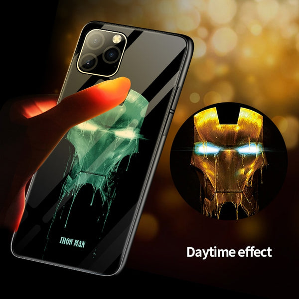 Luminous Venom Glass Case For iPhone 11 Pro XS X(BUY 2 TO GET 10% OFF)