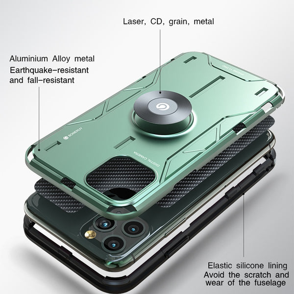 2020 Shockproof Metal Armor Finger Ring Case For iPhone(BUY 2 TO GET 10% OFF)
