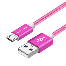 Load image into Gallery viewer, Nylon Braided Micro USB Cable for Android
