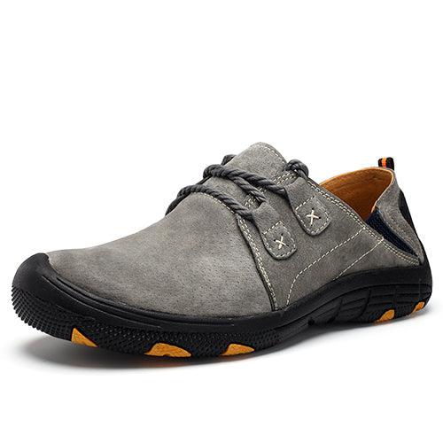 Outdoor Men Suede Comfort Walking Shoes