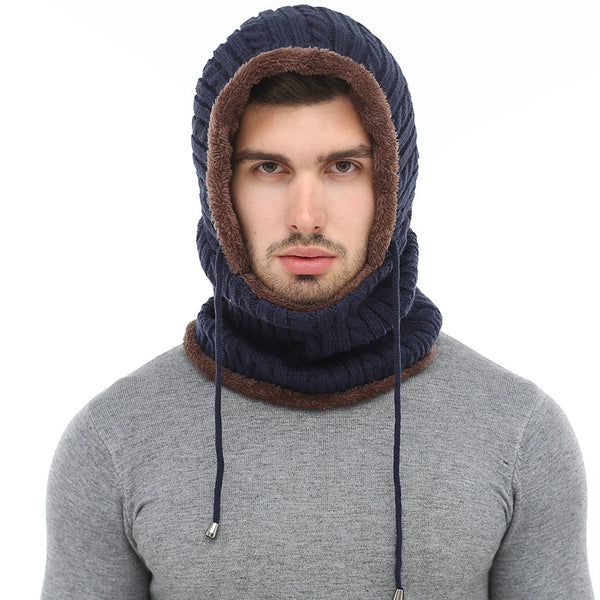 2018 Winter Men Knitted Scarf Skullies Hat(BUY 2PCS TO GET 10% OFF)