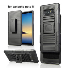 Load image into Gallery viewer, Magnetic Armor Case Finger Ring Kickstand Belt Clip Holster Cover For Note 8