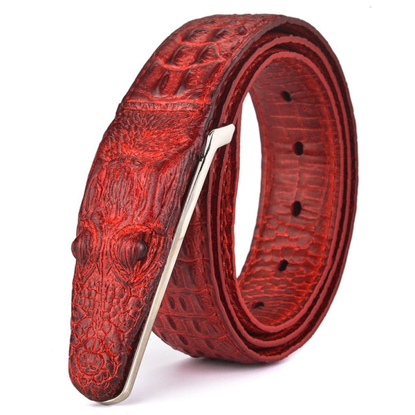 Luxury Mens Crocodile Grain Style Belts(BUY 2 TO GET 10% OFF)