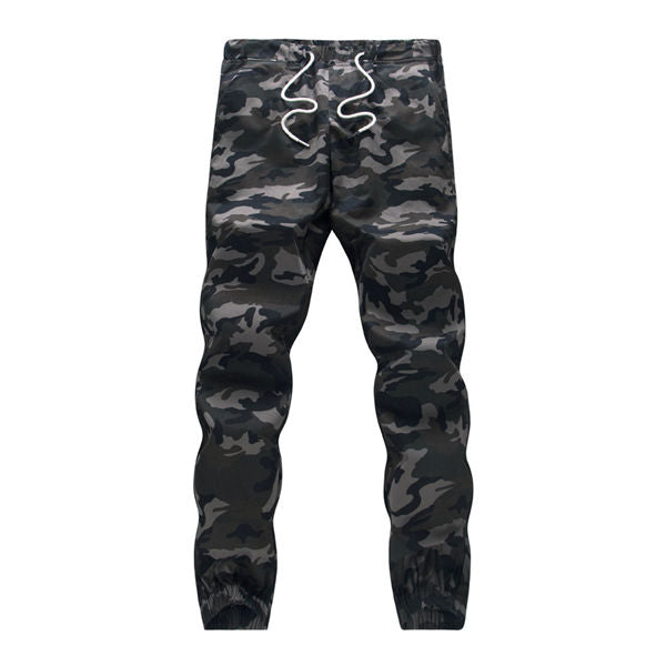 Mens Jogger Autumn Camouflage Military Pants Loose Comfortable