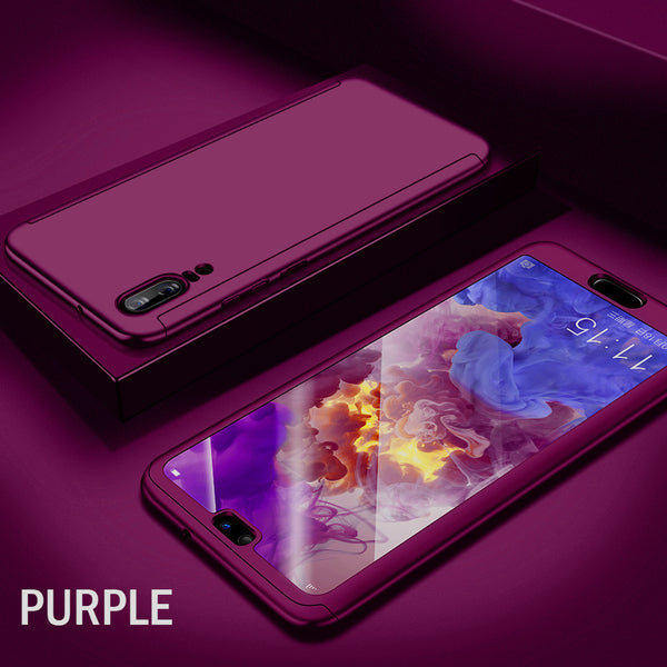 foto ufficiali ddc42 5a26b 360 Degree Full Cover Case For Huawei P20 Mate 10 Lite Pro With ...