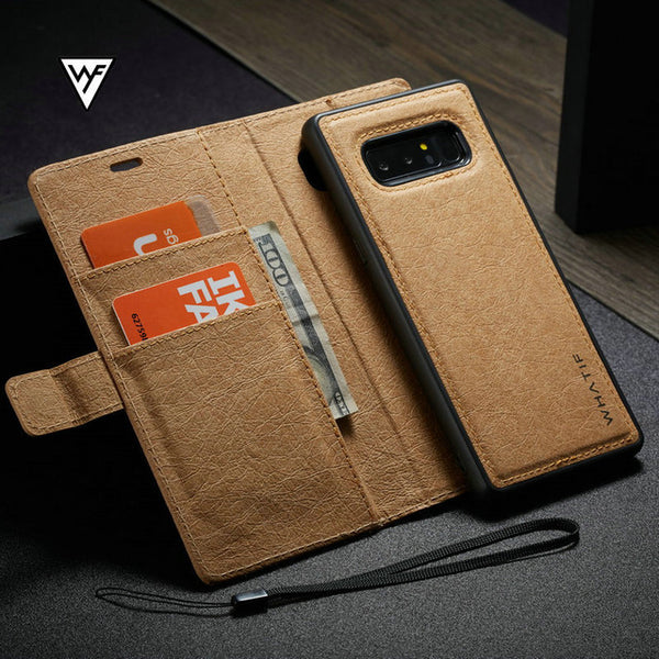 Vintage Kraft Paper Leather Flip Wallet Case for Samsung S8/S7edge(BUY 2PCS TO GET 15% OFF)