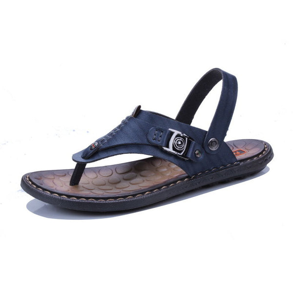 Summer Genuine Leather  Sandals For Men
