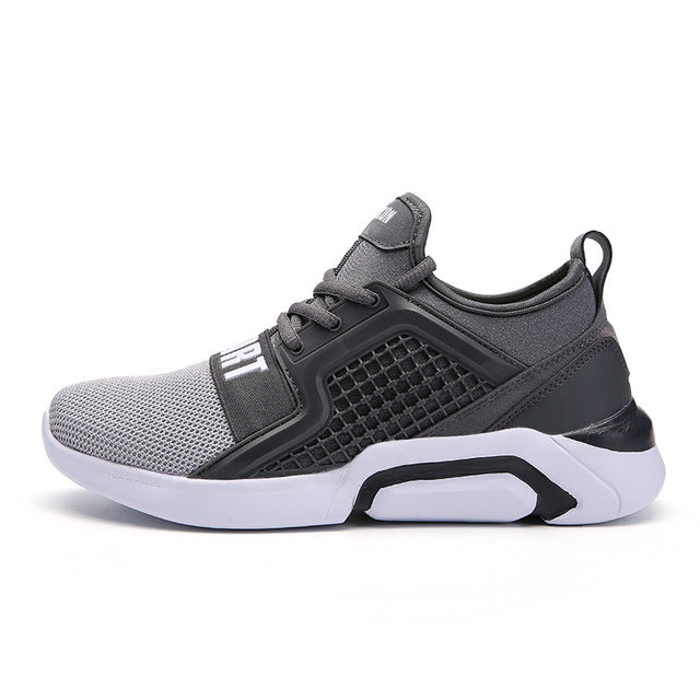 Unisex Lightweight Jogging Walking Trainers Air Mesh  Sneakers