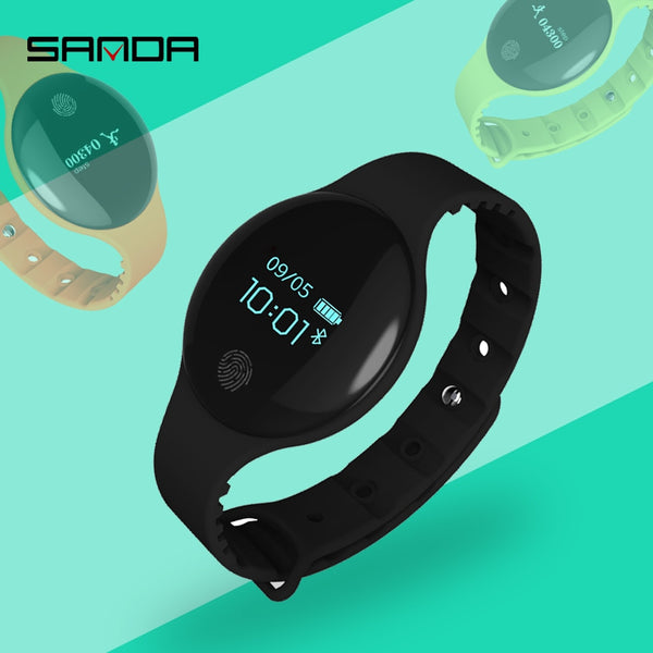 Bluetooth Sport Intelligent Pedometer Fitness Bracelet for IOS/Android