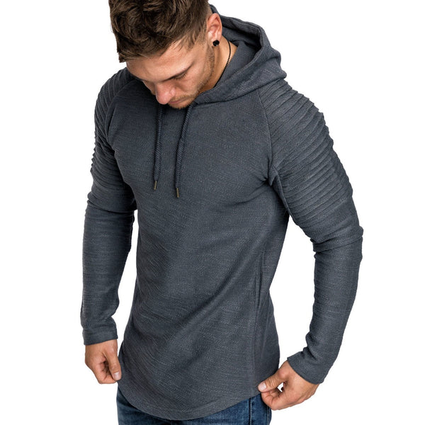 Hot Fashion Casual Men's Long Sleeve Hoodie(BUY 2PCS TO GET 10% OFF)