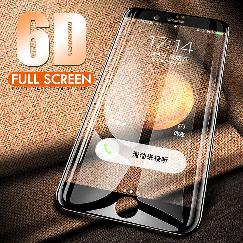 6D Full Cover Curved Tempered Glass For iPhone 7/8/6s Plus(BUY 2PCS TO GET 15% OFF)