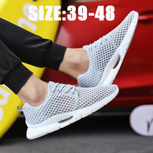 Load image into Gallery viewer, Big Size Summer Breathable Mesh Designer Sneakers