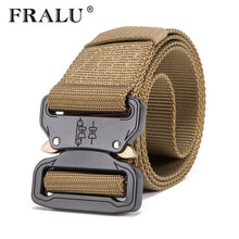 Load image into Gallery viewer, Hot Mens Tactical Belt Military Nylon Belt Outdoor multifunctional Training Belt
