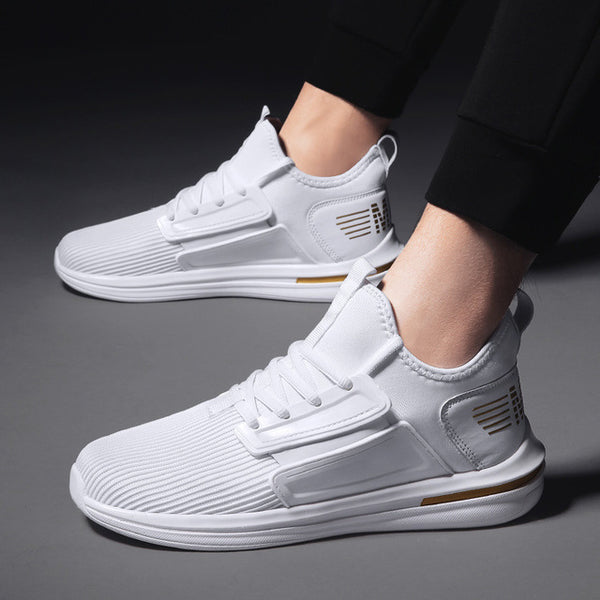 Lace Up Men Summer Mesh Sneakers