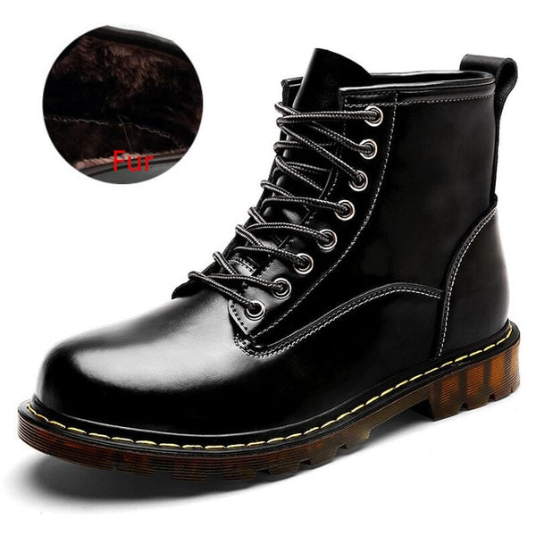 Autumn Winter Waterproof Men Leather Martin Boots(BUY 2 TO GET 10% OFF)