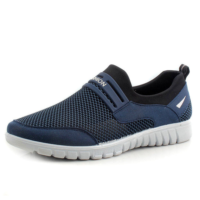 Plus Size Male Breathable Casual Slip on Shoes