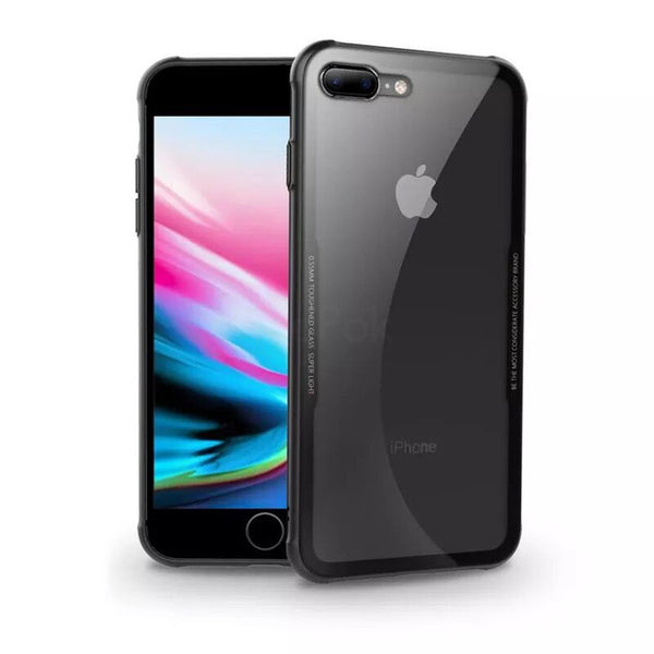 Luxury Ultra Thin Protective Tempered Glass Phone Case For iPhone X 8 7 6S 6/Plus