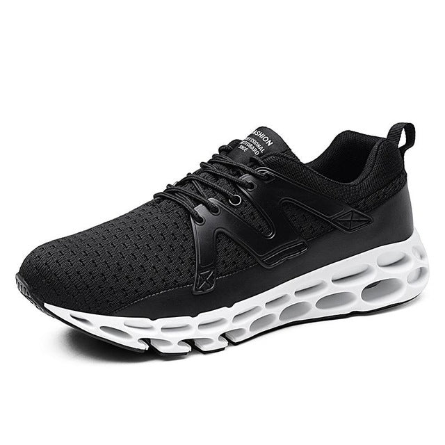 Big Size Lightweight Athletic Cushioning Sport Shoes For Men