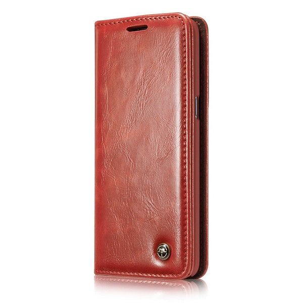 Luxury Leather Phone Cases for Samsung Galaxy S9 S9Plus