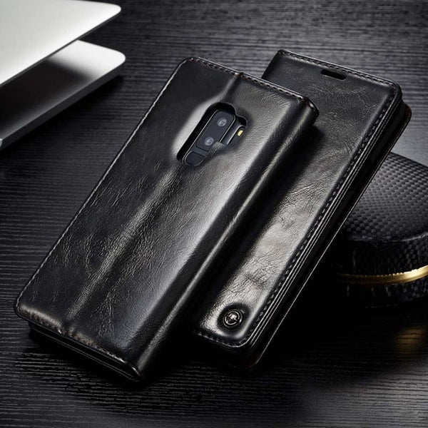 Luxury Retro PU Leather Wallet Case For Samsung S9/S8 Plus/S7/S6 Edge(BUY 2PCS TO GET 10% OFF)