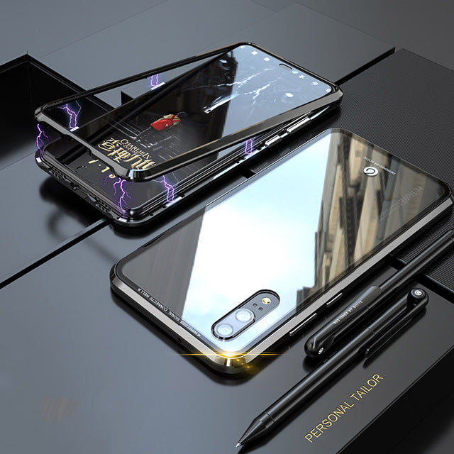 Magnetic Adsorption Shockproof Metal Case For Huawei P20/P20 Pro(BUY 2PCS TO GET 15% OFF)