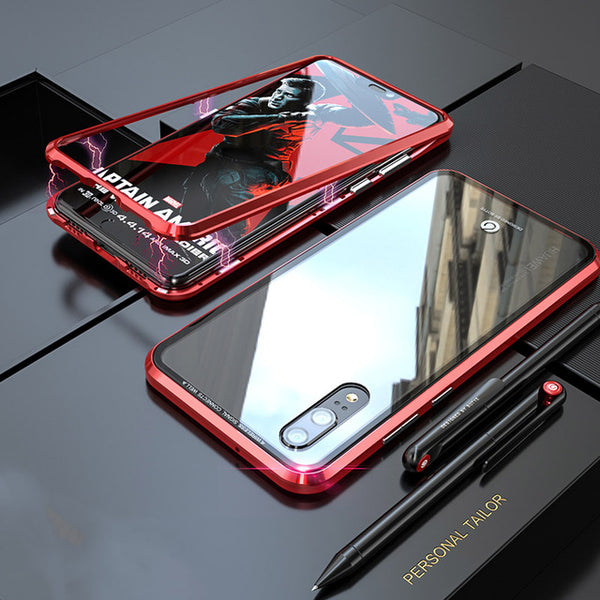 new style 61905 a6235 Magnetic Adsorption Shockproof Metal Case For Huawei P20/P20 Pro(BUY 2PCS  TO GET 15% OFF)