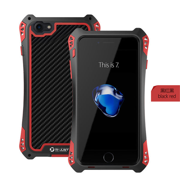 Metal Aluminum Armor Shockproof Case For iPhone X/8/7 Plus(BUY 2PCS TO GET 15% OFF)