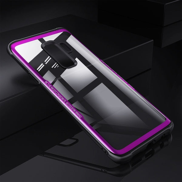 Soft TPU + 9H Tempered Glass For Samsung S9/S9 Plus(BUY 2PCS TO GET 15% OFF)