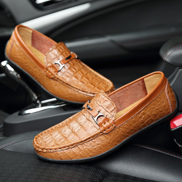 2018 Autumn Big Size Mens Leather Driving Shoes(BUY 2 TO GET 10% OFF)