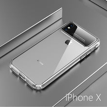 Load image into Gallery viewer, 2018 NEW Hard PC Back+Soft Edge Transparent Phone Case for iPhone X  7 8