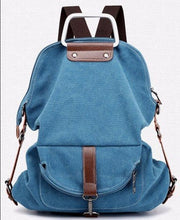 Load image into Gallery viewer, Large Capacity Casual Canvas School Shoulder Bags