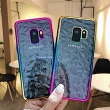 Load image into Gallery viewer, Ultra-thin Plating Diamond Design Case for Samsung Galaxy