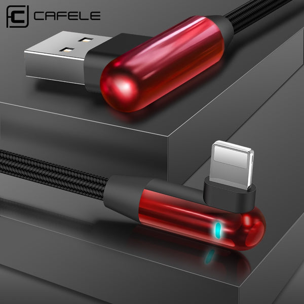 90 Degree Gaming LED Lighting USB Cable for iPhone X/8/7/6 Plus(BUY 2PCS TO GET 15% OFF)