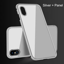 Load image into Gallery viewer, Magnetic Adsorption Case For Samsung /Iphone Clear Tempered Glass