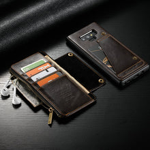 Load image into Gallery viewer, Luxury Detachable Leather Wallet Case For Samsung Note 9(BUY 2PCS TO GET 15% OFF)