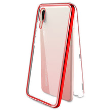 Load image into Gallery viewer, Magnetic Flip Phone Case with screen protector for HuaweiP20