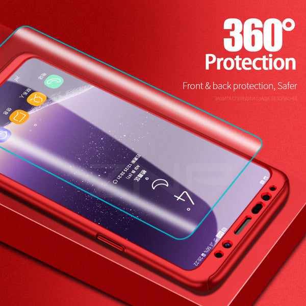 360 Degree Shockproof Phone Case For Samsung S9/S8 Plus/S7 Edge(BUY 2 TO GET 15% OFF)