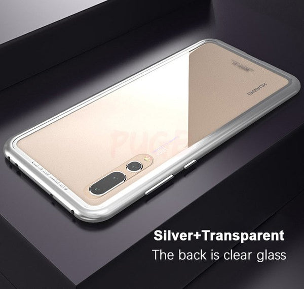 Magnetic Adsorption Metal Bumper Case for Huawei P20/P20 Pro(BUY 2PCS TO GET 15% OFF)