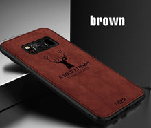 Load image into Gallery viewer, Luxury Christmas Deer Cloth Case For Samsung S7 Edge/S8/S9/Note 9(BUY 2 TO GET 15% OFF)