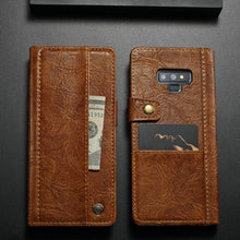 Load image into Gallery viewer, Luxury Flip Leather Wallet Case for Samsung Note 9(BUY 2PCS TO GET 10% OFF)