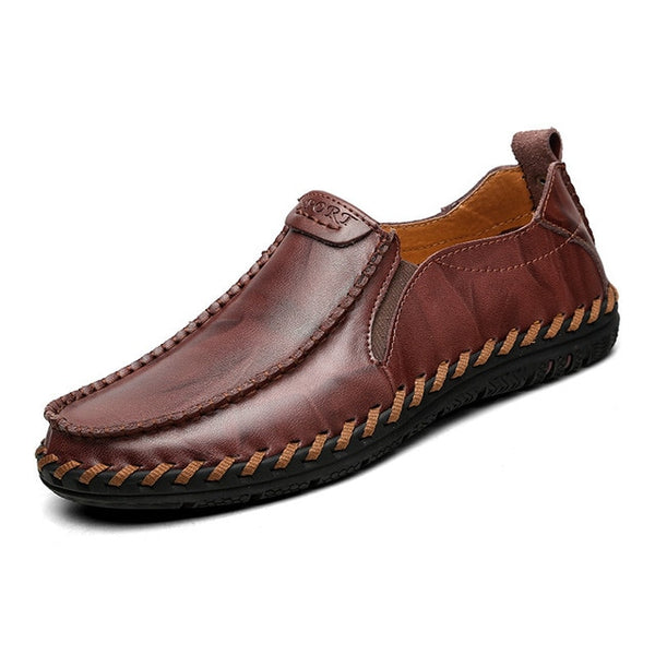 Fashion Genuine Leather Comfort Casual Loafers