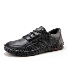 Load image into Gallery viewer, New Men Lace Up Thick Sole Cowhide Shoes(BUY 2 TO GET 10% OFF)
