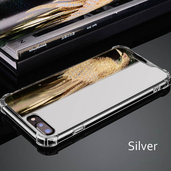 online store 21148 f89ff Luxury Plating Mirror Makeup Girly Case For iPhone X XS Max