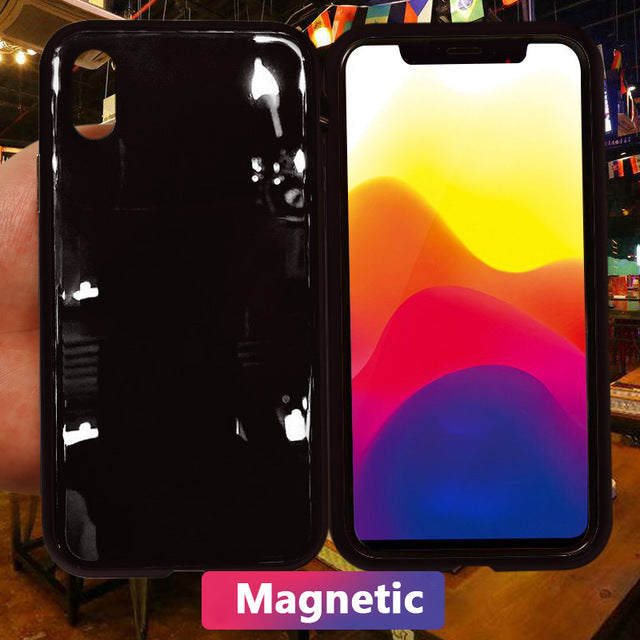 Luxury Candy Colors Magnetic Adsorption Case for iPhone X(BUY 2 TO GET 15% OFF)