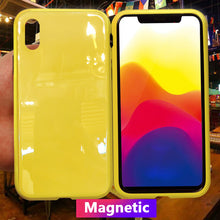 Load image into Gallery viewer, Luxury Candy Colors Magnetic Adsorption Case for iPhone X(BUY 2 TO GET 15% OFF)