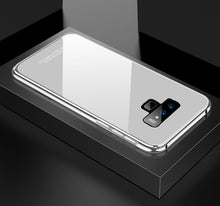 Load image into Gallery viewer, Luxury Aluminum Metal + Plastic + Tempered Glass Case For Samsung Galaxy Note 9