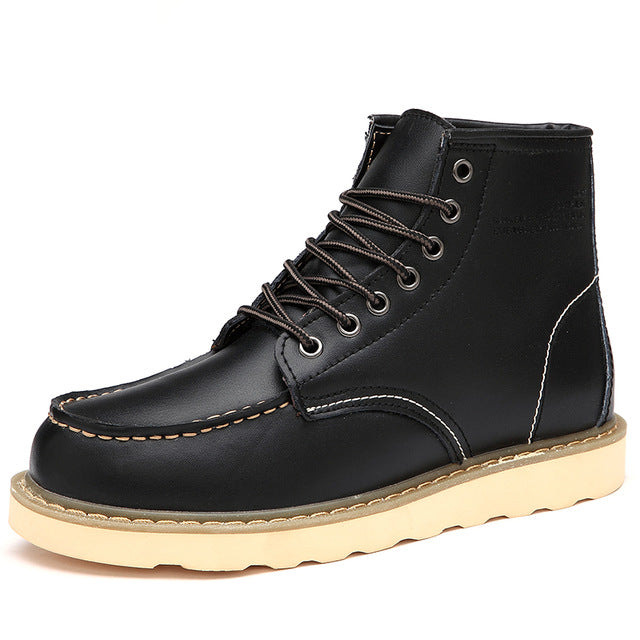 Waterproof Men High Top Warm Martin Boots(BUY 2PCS TO GET 10% OFF)