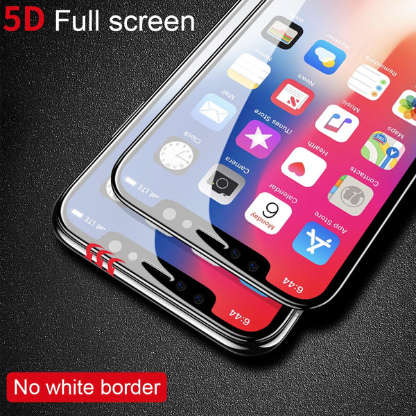 5D Tempered Glass Screen Protector For iPhone XS/XR/X(BUY 2PCS TO GET 15% OFF)
