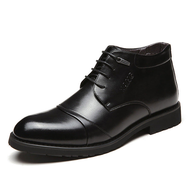 Business Men Leather Winter Warm Boots(BUY 2 TO GET 10% OFF)